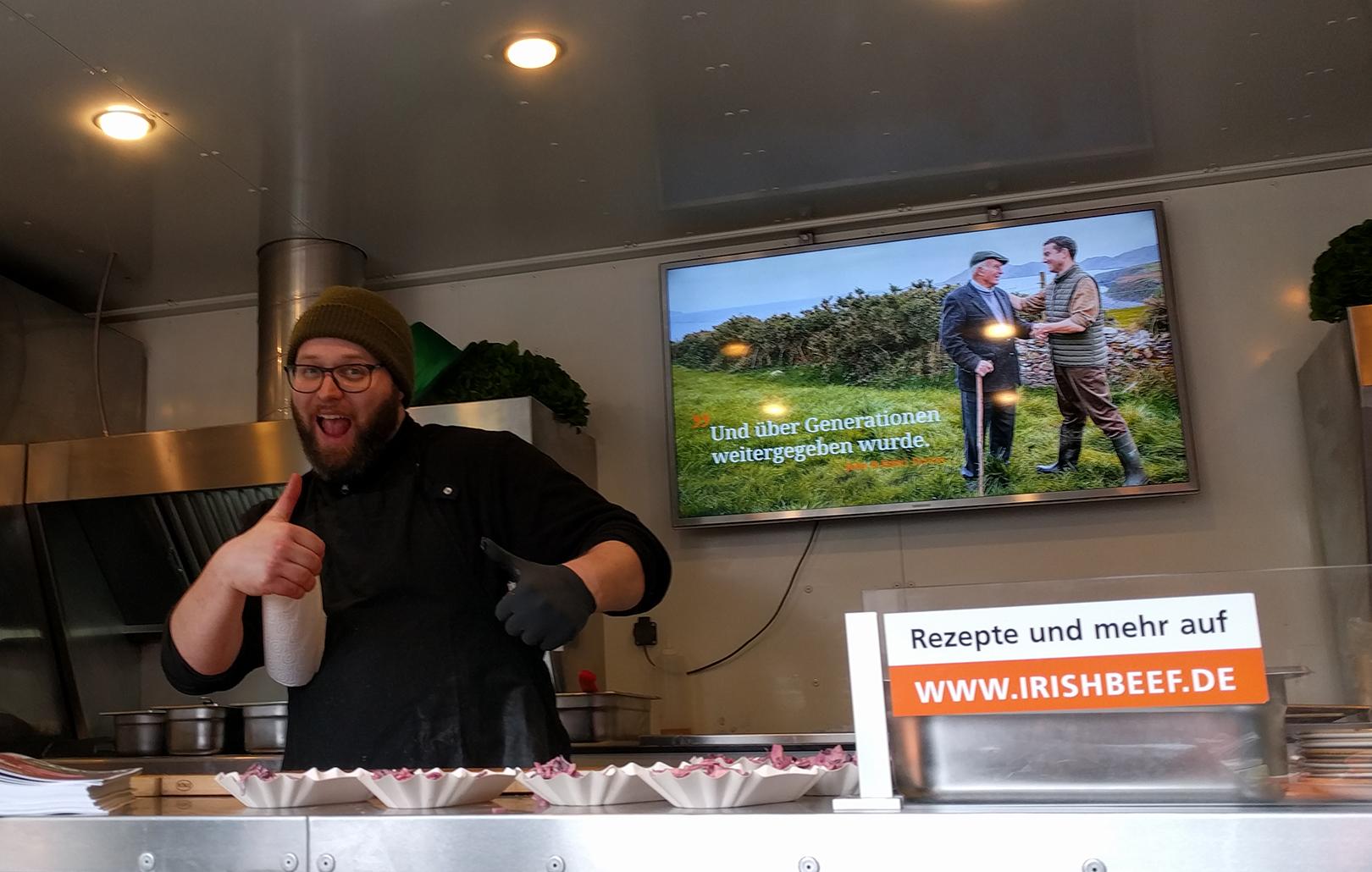 Herr der Grills: unser Food-Trucker Marvin